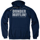 The Office Comedy Sitcom TV Dunder Mifflin Distressed Adult Pull-Over Hoodie