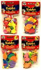 Pritt 3D Foam Pieces - Kids Art - Themes - Non Adhesive - No Glue Included