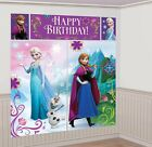 Disney's FROZEN Scene Setters Wall Banner Decorating Kit Birthday Party Supplies