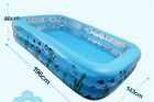 Safety Inflatable Kids Toy Family Lounge Swimming Pool Large Square Fishing Pond