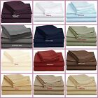 6 PIECE BED SHEET SET 1800 THREAD COUNT 12 COLORS KING QUEEN FULL RETAIL $189.99
