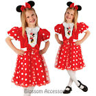 CK201 Disney Princess Red Glitz Minnie Mouse Dress Girl Child Book Week Costume