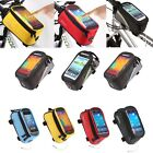 Bicycle Bike Cycle Mobile Phone Holder iPhone Frame Tube Pouch Bag Case Carrier