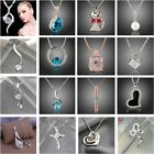 Wholesale Xmas Jewellery Solid 925Sterling Silver Jewelry Pendant Necklace Chain