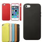 Slim Luxury Genuine Leather Case Back Skin Cover For Apple iPhone 5S/5 Newest
