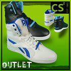 REEBOOK SL FITNESS ULTRALITE CLASSIC HI TOP LACE UP BLACK WHITE MENS TRAINERS