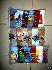 6 pack of Boys 100% Cotton Boxers Briefs - Mixed Colours size 2-3,4-6,8-10,12-14