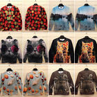 Mens Womens 3D Print Sweatshirt Pullover sweater hoodies Top Jumper 9 Style