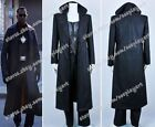 Blade Trinity Cosplay Wesley Snipes Costume Black Trench Coat Outfit Full Set