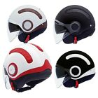 NEXX SWITX SX 10 OPEN FACE SUNVISOR CUSTOMISABLE COVER MOTORCYCLE SCOOTER HELMET