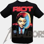 "Riot "" Restless Breed "" T-Shirt mit Rückendruck 105153 #"
