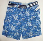 Mens Men's AEROPOSTALE Palm Tree Belted Flat-Front Shorts NWT #0848