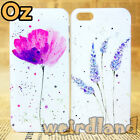 Watercolor Flowers Cover for iPhone SE/5/5S, Quality Painted Case WeirdLand