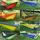 New Portbale Outdoor Portable Parachute Nylon Fabric Hammock for Double Person