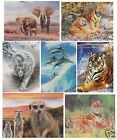 Animal 3D Art Pictures Wall Art Large Wall Pictures Ideal Gift Free UK P&P