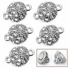 9mm , 5Pcs Round Crystal Rhinestone Strong Magnetic Clasps Jewelry Findings