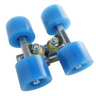 A pair 85A PU Skateboard Wheels Abec-7 Bearings Absor Shock Color Seclect
