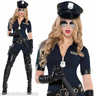Adults Sexy Stop Traffic Policewoman Police Cop Fancy Dress Costume