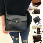 PU Leather Shoulder Bags Satchel Clutch Womens Handbag Tote Purse Messenger A
