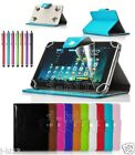 """Qualified Leather Case Cover+Gift For 10.1"""" Hipstreet EQUINOX 1 2 3 4 Tablet GB8"""