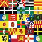 A-Z COUNTY FLAGS ALPHABETICAL - AREAS - REGIONS - ALL SIZES - LARGE