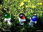 Mini Gazing Ball, Pick Miniature Fairy Gnome Garden,In/outdoor Choose yor color