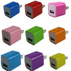 New Fashion Power Adaptor Wall Charger Plug For iPod iPhone 5 4S HTC USB Charger