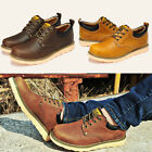 Hot British shores tooling leather breathable Boots men casual low shoes WX0013