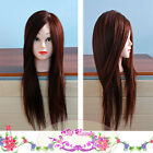 Training Head Lastest Cosmetology Practice Mannequin+ Clamp + Steel Comb 2014