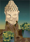 Poster / Leinwandbild buddha art - illustration spa