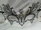 Halloween Spider Metal Womens Prom Costume  Masquerade Ball midnight party Mask