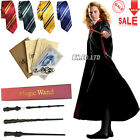 Harry Potter Gryffindor/Slytherin/Hufflepuff/Ravenclaw Cloak Robe/wand/Scarf