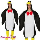 Adult Penguin Animal Costume Funny Mens Fancy Dress Halloween Party Dress Outfit