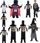 Kids Halloween Fancy Dress Costume MAD HATTER Scary Pumpkin Wizard Hyde EviL