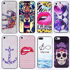 New Painted Various Pattern Hard Skin Case Cover for Apple iPhone 5 5S A35