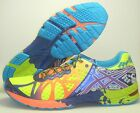 NEW MEN'S ASICS GEL - NOOSA TRI 9 RUNNING SHOES SNEAKERS YELLOW PURPLE NAVY