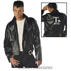 I95 T-Birds Gang Jacket 1950 Mens 50s Black Grease Danny T bird Tbird Costume