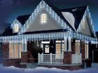 Ultra Bright 960 Snowing Icicle chaser Rice WHITE BLUE CLEAR LED Christmas Xmas