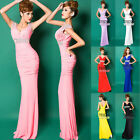 Women Bodycon Formal Evening Gown Long Cocktail Party Ball Homecoming  Dresses
