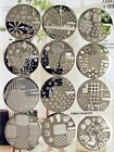 New Nail Art Image Stamp Stamping Plates Manicure Template Q01-10 Series