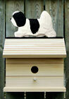 Bird House W/ Coton De Tulear on Peak. Home,Yard & Garden Design Products Gifts