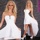 New Womens High Low Dresses Size 6 8 10 Cocktail Formal Occasion Evening Wear