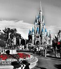 Canvas prints wall art modern photo poster decor disney castle mickey mouse 02c
