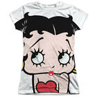 Betty Boop 1930's Animated Character Icon Pucker Up Junior 2-Sided Print T-Shirt $31.95 USD on eBay