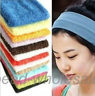 Cotton Headbands Yoga Athletic Sport Bang Hair Band For Women 17colors For Pick