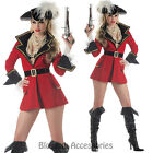 CL39 Captain Treasure Pirate Carribbean Fancy Dress Up Halloween Party Costume