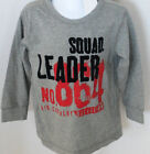 Gymboree Boy's Aviator School Gray Squad Leader Long Sleeve Shirt Size 4
