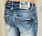 schmale Mädchenjeans BLUE REBEL Jogg Jeans Sweat CALCIET super skinny NEU
