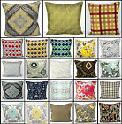 "New Printed 100% Cotton Decorative Cushion Covers Pillow Case Size: 20""x 20"""