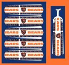 "NFL CHICAGO BEARS TEAM LOGOS CEILING FAN REPLACEMENTS BLADES 52"" (5 BLADES)"